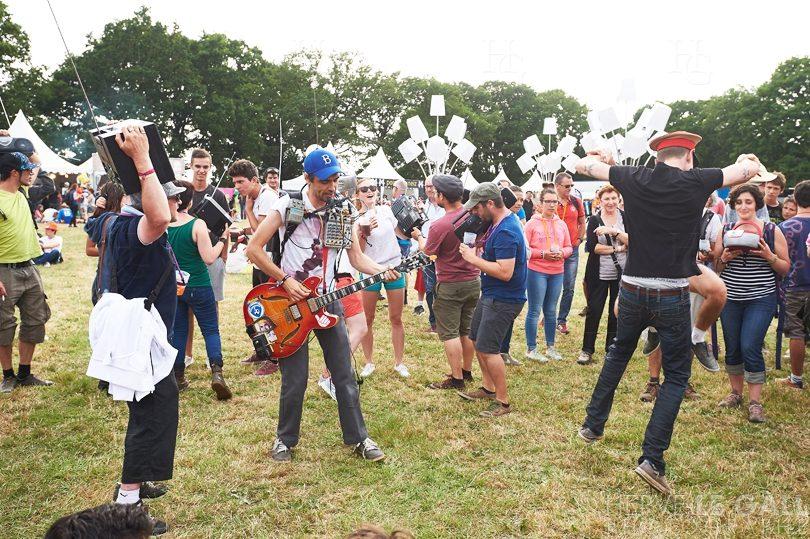 Boogers ghetto blaster party Festival les Vieilles Charrues vendredi 17 juillet 2015 par Herve Le Gall