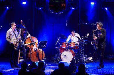 Sylvain Cathala trio au Cabaret Vauban mercredi 1er avri 2015 par Herve Le Gall.