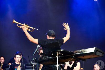 Ibrahim Maalouf Festival les Vieilles Charrues samedi 16 juillet 2016 par Herve Le Gall.