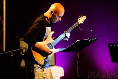 Marc Ducret et Journal intime au Cabaret Vauban Atlantique jazz festival mardi 14 octobre 2014 par Herve Le Gall.