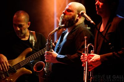 Thomas de Pourquery SUPERSONIC au Cabaret Vauban jeudi 12 février 2015 par Herve Le Gall.