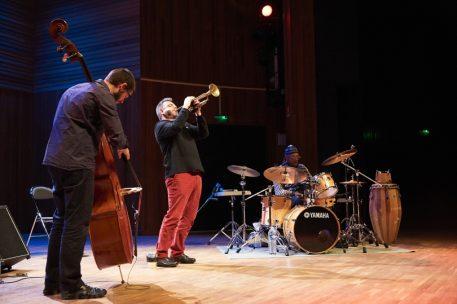 Champion Le Doaré Don Moye Conservatoire Atlantique jazz festival lundi 12 octobre 2015 par Herve Le Gall.