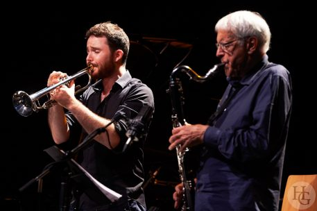 David Ehnco Quartet et Michel Portal Family Landerneau Atlantique jazz festival vendredi 30 septembre 2016 par Herve Le Gall.
