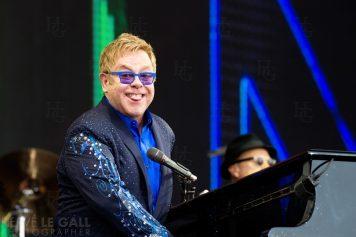Elton John Festival les Vieilles Charrues vendredi 18 juillet 2014 par Herve Le Gall.