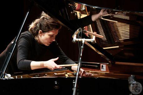 Eve Risser Conservatoire Brest Atlantique jazz festival dimanche 16 octobre 2016 par Hervé Le Gall photographe.