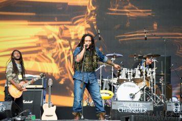 Ky-Mani Marley Festival les Vieilles Charrues dimanche 20 juillet 2014 par Herve Le Gall.