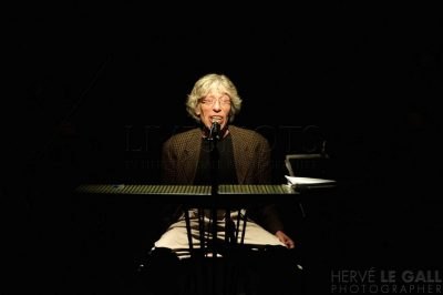 Albert Marcoeur Cabaret Vauban 10 avril 2014 par Herve Le Gall.