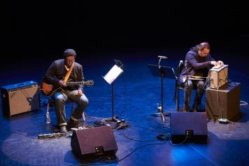 Rob Mazurek Jeff Parker Atlantique jazz festival Mac Orlan mercredi 14 octobre 2015 par Herve Le Gall.