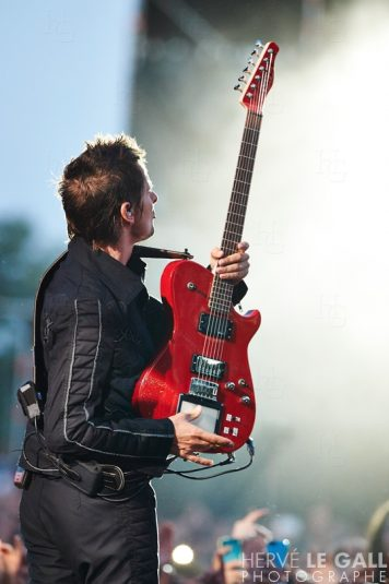 Muse Festival les Vieilles Charrues jeudi 16 juillet 2015 par Herve Le Gall.
