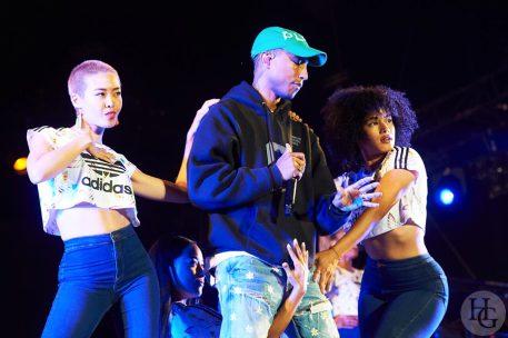 Pharrell Williams Festival les Vieilles Charrues vendredi 15 juillet 2016 par Herve Le Gall