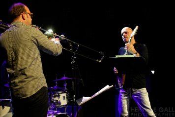 Samuel Blaser trio Mac Orlan Atlantique jazz festival jeudi 16 octobre 2014 par Herve Le Gall.