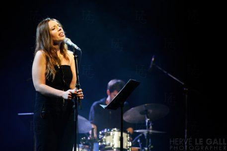 Sarah Lancman Le Family Atlantique jazz festival vendredi 10 octobre 2014 par Herve Le Gall.