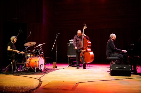 The Necks Auditorium Brest Atlantique jazz festival samedi 18 octobre 2014 par Herve Le Gall.