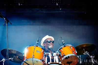 Tony Allen review Festival les Vieilles Charrues samedi 18 juillet 2015 par Hervé Le Gall