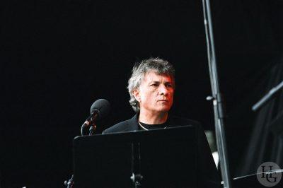Didier Squiban Manu Lann Huel Festival les Vieilles Charrues vendredi 24 juillet 2004 par Herve Le Gall photographe