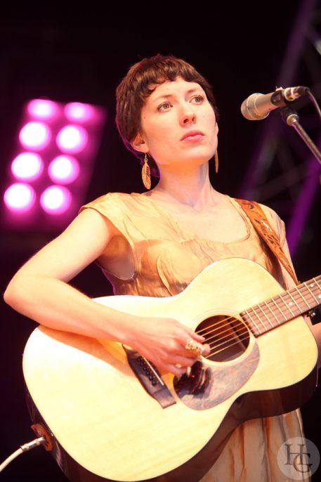 Alela Diane Festival des Vieilles Charrues vendredi 17 juillet 2009 par herve le gall photographe cinquieme nuit