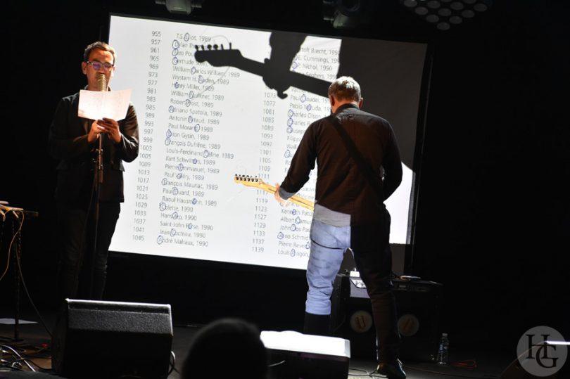 Andy Moor et Anne James Chaton Cabaret Vauban Brest 11 mai 2017 par herve le gall photographe cinquieme nuit
