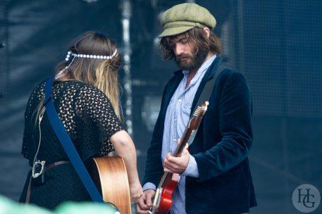 Angus and Julia Stone Festival les Vieilles Charrues Carhaix samedi 16 juillet 2011 par herve le gall photographe cinquieme nuit