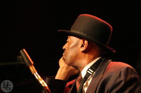 Archie Shepp Atlantique jazz festival Espace Vauban Brest 29 octobre 2004 par herve le gall photographe cinquieme nuit
