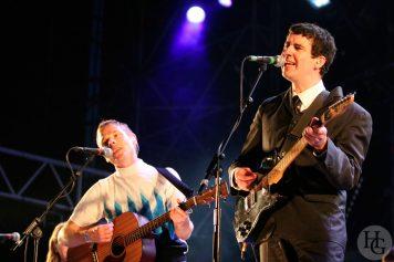 Belle and Sebastian festival la route du rock samedi 12 août 2006 par herve le gall photographe cinquieme nuit
