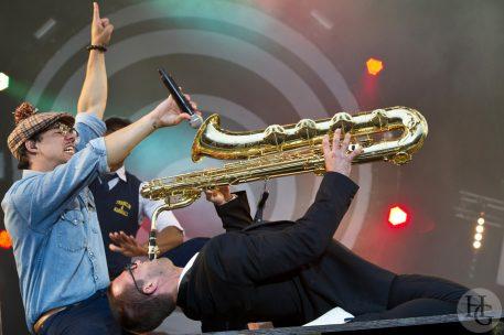 Ben l'Oncle soul Festival les Vieilles Charrues Carhaix dimanche 17 juillet 2011 par herve le gall photographe cinquieme nuit