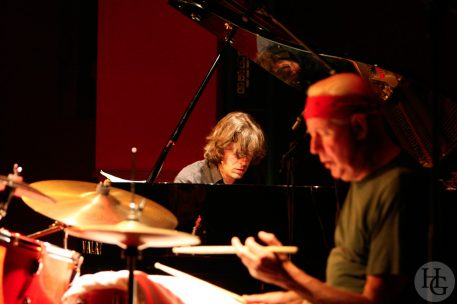 Han Bennink et Benoit Delbecq Espace Vauban jeudi 15 novembre 2007 par herve le gall photographe cinquieme nuit