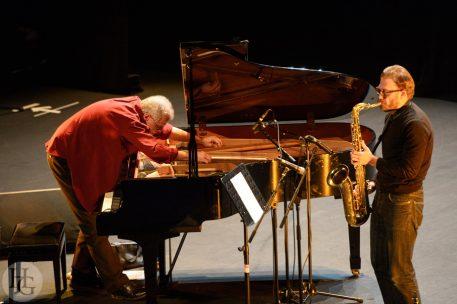 Bjurstrom et Bauder Mac Orlan Festival Désordre 20 janvier 2013 photo par herve le gall photographe cinquieme nuit