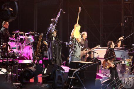 Bruce Springsteen & the E Street Band Vieilles Charrues 16 juillet 2009 par herve le gall photographe cinquieme nuit