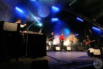 Champion Festival les Vieilles Charrues Carhaix samedi 22 juillet 2006 par herve le gall photographe cinquieme nuit
