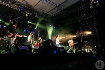 Chk chk chk !!! Festival la route du rock samedi 13 août 2005 par herve le gall photographe cinquieme nuit