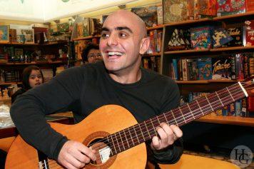 Da Silva Les Enfants de Dialogue show case mercredi 3 janvier 2007 par herve le gall photographe cinquieme nuit