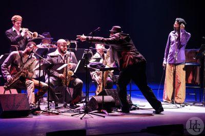 Ernest Dawkins ensemble I have a dream le Quartz atlantique jazz festival 15 octobre 2013 photo par herve le gall photographe cinquieme nuit