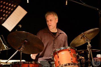 Gerry Hemingway Quintet Cabaret Vauban 24 octobre 2012 Atlantique jazz Festival par herve le gall photographe cinquieme nuit