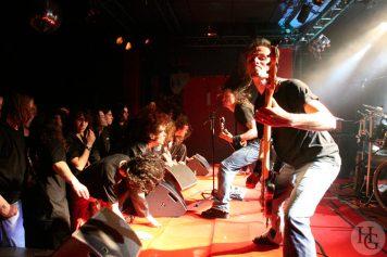 Gojira Espace Vauban concert du jeudi 1er juin 2006 par herve le gall photographe cinquieme nuit