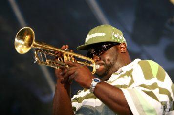 Hot 8 brass Band festival du bout du monde dimanche 12 août 2007 par herve le gall photographe cinquieme nuit