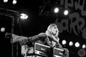 Iggy Pop and the Stooges Festival les Vieilles Charrues samedi 23 juillet 2005 par herve le gall photographe cinquieme nuit