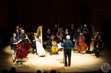Joëlle Léandre et l'Ensemble Sillages au Conservatoire de Brest Atlantique jazz festival 20 octobre 2013 par herve le gall photographe cinquieme nuit
