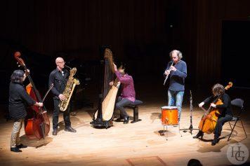 Joëlle Léandre quintet au Conservatoire de Brest Atlantique jazz festival 20 octobre 2013 par herve le gall photographe cinquieme nuit