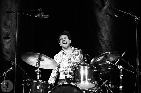 le cri extenzo edward perraud drums cabaret vauban photo par herve le gall photographe cinquieme nuit