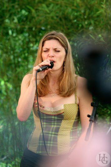 Marine Seznec Festival Jazz in la Prairie samedi 7 juillet 2007 par herve le gall photographe cinquieme nuit
