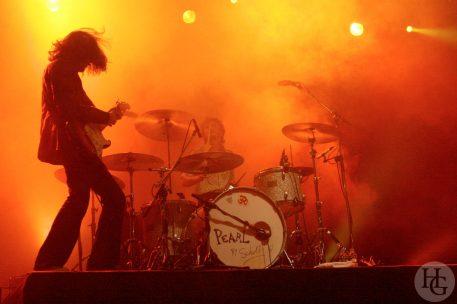 Matmatah Concert des étudiants, Place de la Liberté Brest jeudi 6 octobre 2005 par herve le gall photographe cinquieme nuit