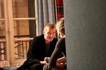 Jane Birkin et Christophe Miossec Espace Vauban Brest 14 janvier 2005 par herve le gall photographe cinquieme nuit
