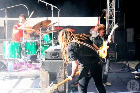 Nada surf Festival Berthe home vendredi 14 juillet 2006 par herve le gall photographe cinquieme nuit