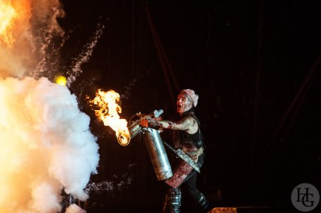 Rammstein Festival les Vieilles Charrues jeudi 18 juillet 2013 par herve le gall photographe cinquieme nuit