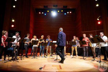 photo de Rob Mazurek Ensemble Nautilis Conservatoire de Brest 21 juin 2017 par herve le gall photographe cinquieme nuit