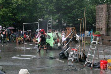 Roman photo de Royal Deluxe Festival Art Rock dimanche 27 mai 2007 par herve le gall photographe cinquieme nuit