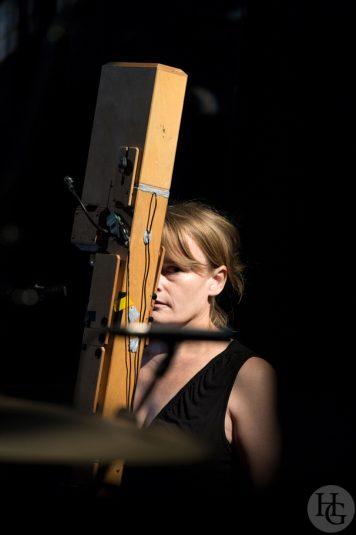 Thymolphtalein feat. Natasha Anderson. Festival Sonore La Carène 11 mai 2012 par herve le gall photographe cinquieme nuit