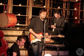 Yann Tiersen et Christophe Miossec Espace Vauban samedi 5 février 2005 par herve le gall photographe cinquieme nuit