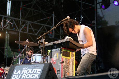 Why ? Festival la route du rock vendredi 11 août 2006 par herve le gall photographe cinquieme nuit