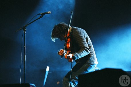 photo Yann Tiersen Brest 2004 Port de Commerce 11 juillet 2004 par herve le gall photographe cinquieme nuit